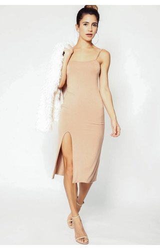 Delacy Cami Midi Slip Dress
