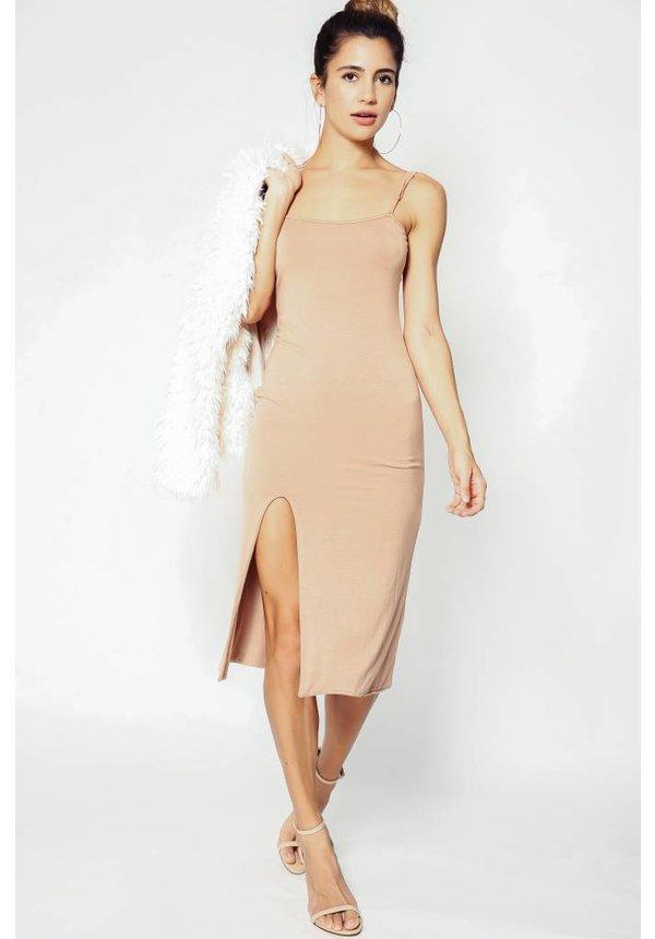 Delacy Cami Midi Slip Dress