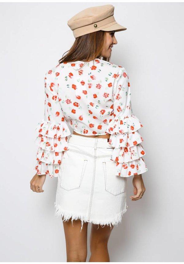 One Teaspooon Coconut Mini High Waist Skirt