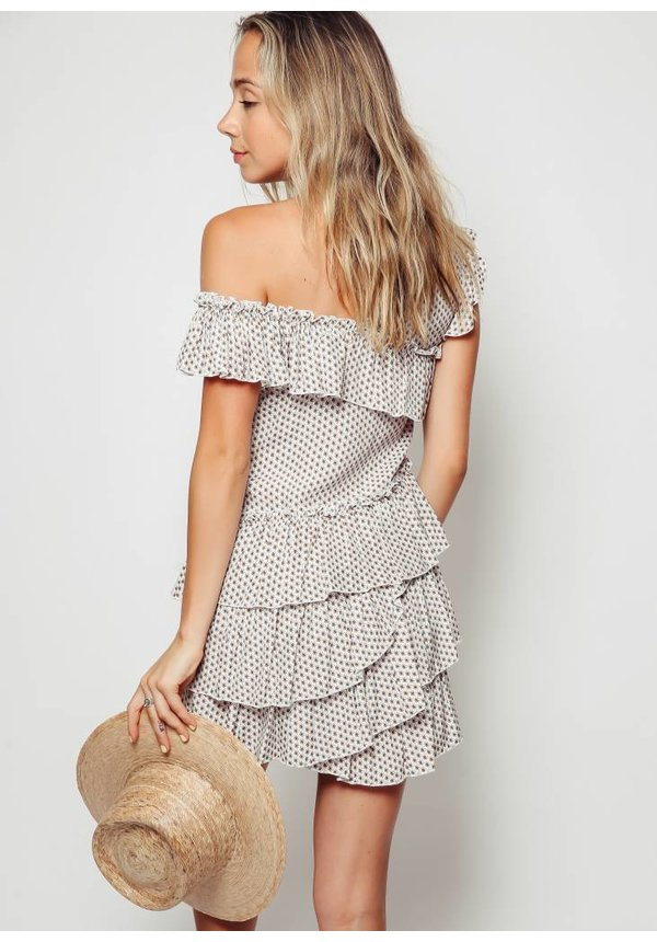 SIR Emelie Ruffle Mini Dress