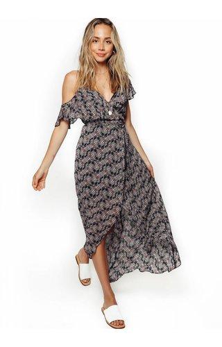 Karina Grimaldi Karina Grimaldi Paulette Print Maxi Dress