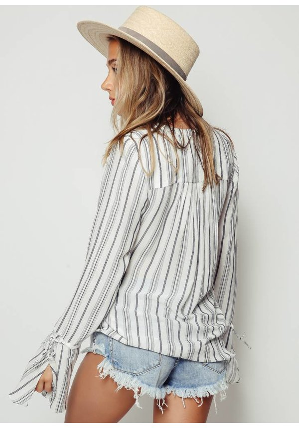 TJD Aries Stripe Shirt