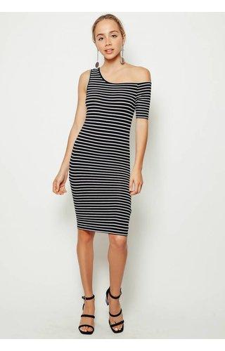 Frame Denim Frame One Sleeve Dress