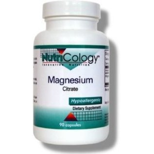 Nutricology Nutricology Magnesium Citrate 90c