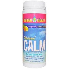 Natural Vitality Natural Calm Lemon/Raspberry 8oz