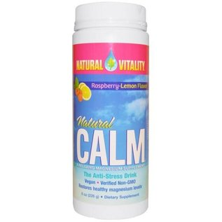 Natural Vitality Natural Calm Lemon/Raspberry 8oz