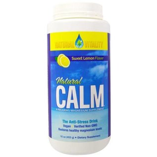 Natural Vitality Natural Calm Lemon 8oz