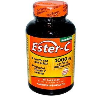 American Health Am Health Ester C w/bio 1000mg 90c