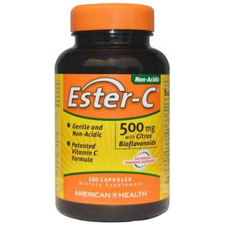 American Health Am Health Ester C w/bio 500mg 120c