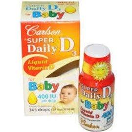 CARLSON LABORATORIES Super Daily D3 Baby 400iu 11ml