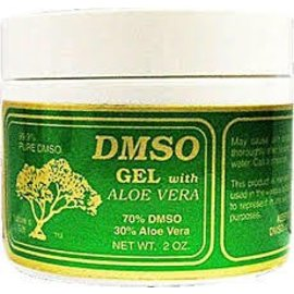 DMSO 70% Green w/Aloe Gel 4oz