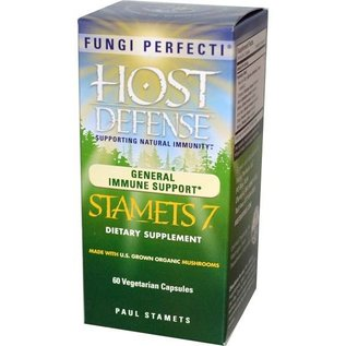 FUNGI PERFECTI, LLC Host Defense Stamets 7 60v