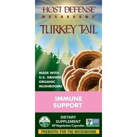 FUNGI PERFECTI, LLC Host Defense Turkey Tail 60v