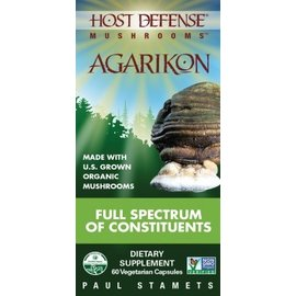 FUNGI PERFECTI, LLC Host Defense Agarikon 60v
