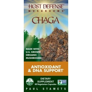FUNGI PERFECTI, LLC Host Defense Chaga 60v
