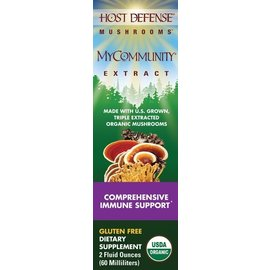 FUNGI PERFECTI, LLC Host Defense MyCommunity Extract 2oz