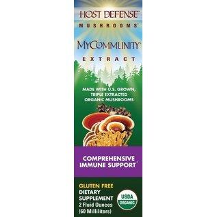 FUNGI PERFECTI, LLC Host Defense MyCommunity Extract 2oz