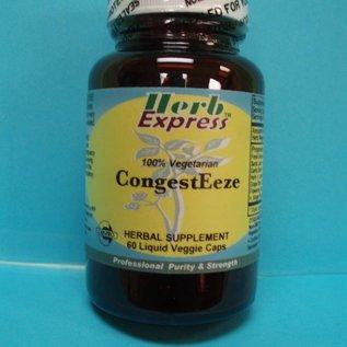 HERB EXPRESS CongestEeze 60 Liquid Veggie Caps