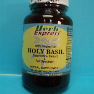 HERB EXPRESS Holy Basil 60 Liquid Veggie Caps