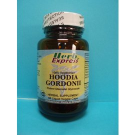 HERB EXPRESS Hoodia Gordonii  60 Liquid Veggie Caps
