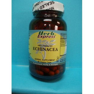 HERB EXPRESS Echinacea Angustifolia 90 Veggie Capsules Vitamin Express