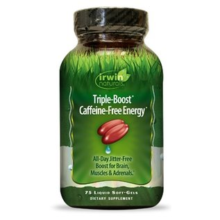 IRWIN NATURALS Triple Boost Caffeine-Free Energy 75sg