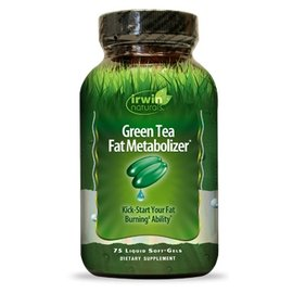 IRWIN NATURALS Green Tea Fat Metabolizer 75sg