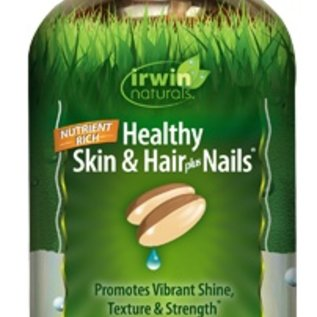 IRWIN NATURALS Healthy Skin & Hair plus Nails 60sg