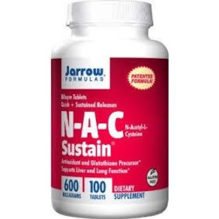 JARROW FORMULAS NAC Sustain 600mg 100t