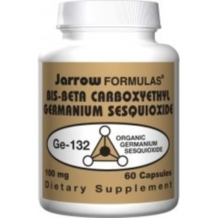 JARROW FORMULAS Germanium Ge-132 100mg 60C