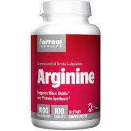 JARROW FORMULAS L-Arginine 1000mg 100t