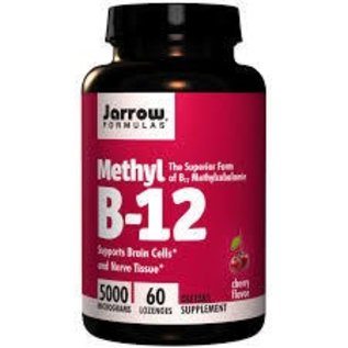JARROW FORMULAS Methyl B-12 5000mcg 60 Lozenges