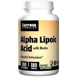 JARROW FORMULAS Alpha-Lipoic Acid 100mg 180t