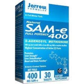 JARROW FORMULAS SAM-e 400mg 30T