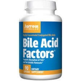 JARROW FORMULAS Bile Acid Factors 333mg 90C