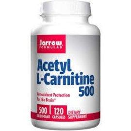 JARROW FORMULAS Acetyl L-Carnitine 500mg 120c