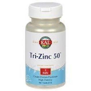 KAL - NUTRACEUTICAL Tri-Zinc 50mg 90t