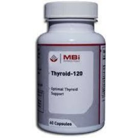 MBi Nutraceuticals Thyroid-120 60c