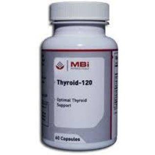 MBi Nutraceuticals Thyroid-120 180c