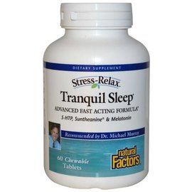 NATURAL FACTORS Tranquil Sleep 60chews