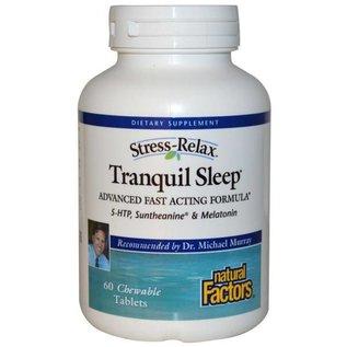 NATURAL FACTORS Tranquil Sleep 60chews