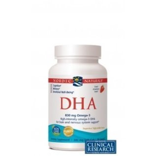 NORDIC NATURALS DHA Strawberry 90sg