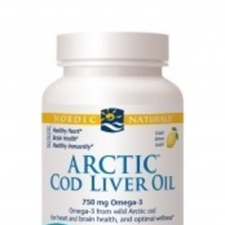NORDIC NATURALS Arctic Cod Liver Oil Lemon 180sg