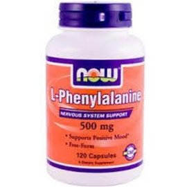 NOW FOODS L-Phenylalanine 500mg 120c