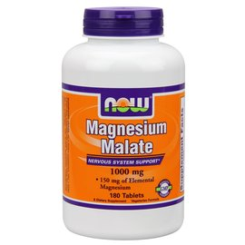 NOW FOODS Magnesium Malate 1000mg 180t
