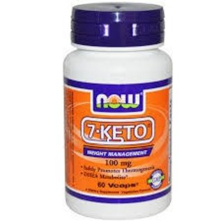 NOW FOODS 7-Keto 100mg 60v