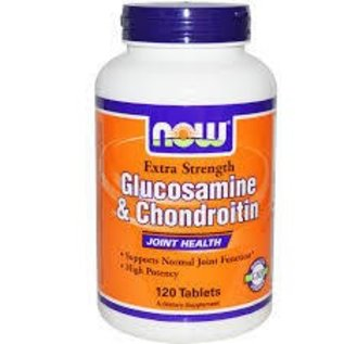 NOW FOODS Glucosamine & Chondroitin 2X 120t