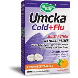 NATURE'S WAY Umcka CF Orange Chew 20