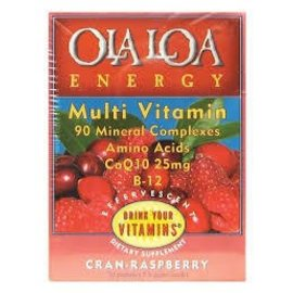 OLA LOA Ola Loa Energy Cran-Raspberry 30 Packets