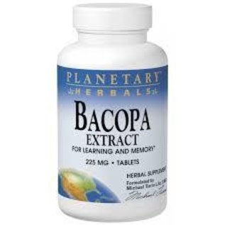 PLANETARY HERBALS Bacopa Extract 225mg 60t